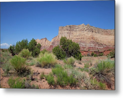 Southern Utah Metal Print featuring the photograph San Rafael Swell by Southern Utah Photography