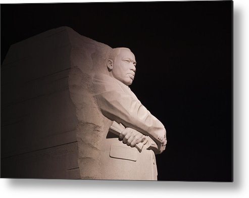 Martin Luther King Jr Metal Print featuring the photograph Martin Luther King Jr Memorial by Theodore Jones