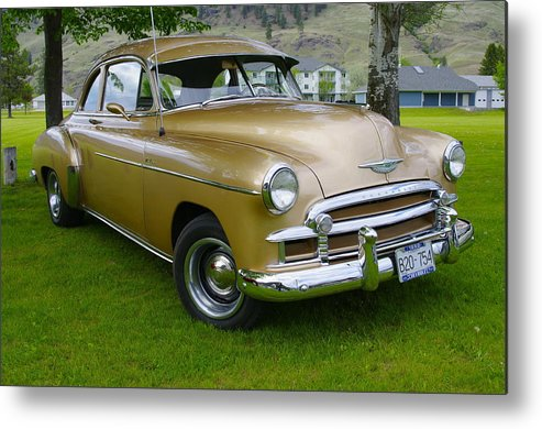 1950 Metal Print featuring the photograph 1950 Chevrolet by John Greaves