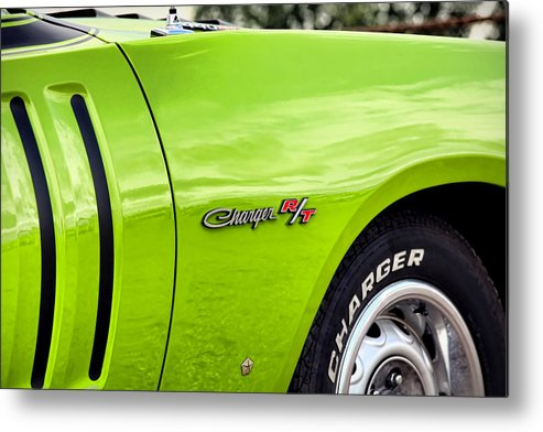 Sassy Metal Print featuring the photograph 1971 Dodge Charger Rt by Ryan Dean