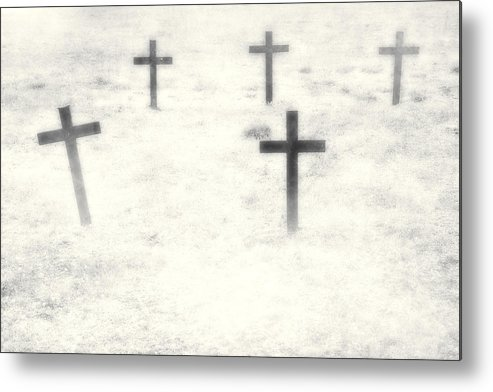 Cemetery Metal Print featuring the photograph Cemetery by Joana Kruse