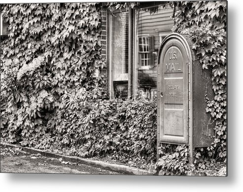 Zip Code 22747 Metal Print featuring the photograph 22747 Bw by JC Findley