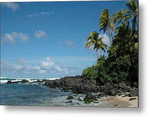 Hawaii Metal Print featuring the photograph Untitled by Kathy Schumann