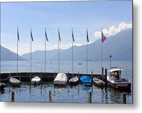 Alps Metal Print featuring the photograph Ascona - Ticino by Joana Kruse
