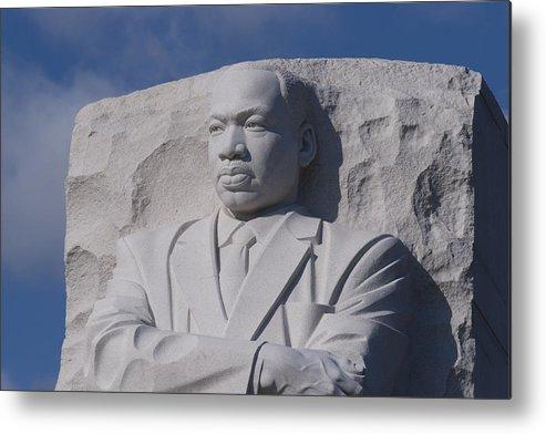 Martin Luther King Jr Metal Print featuring the photograph Martin Luther King Jr Memorial by Theodore Jones