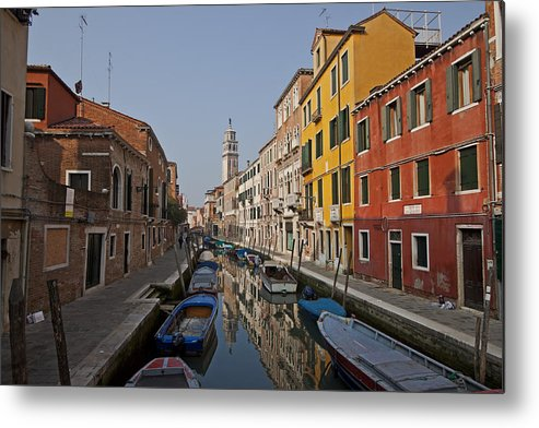 Architecture Metal Print featuring the photograph Venice - Italy by Joana Kruse