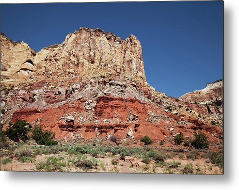 Southern Utah Metal Print featuring the photograph Capitol Reef National Park by Southern Utah Photography