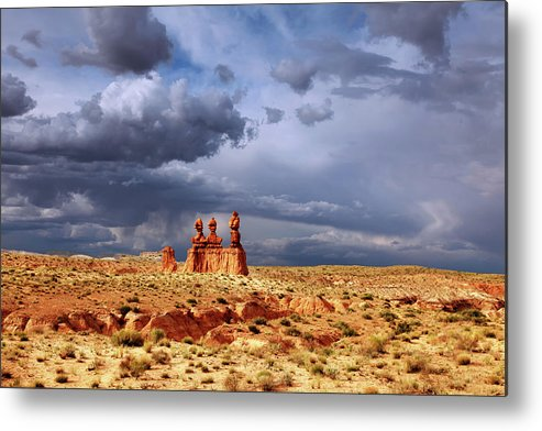 Red Rock Metal Print featuring the photograph Goblin Valley by Southern Utah Photography