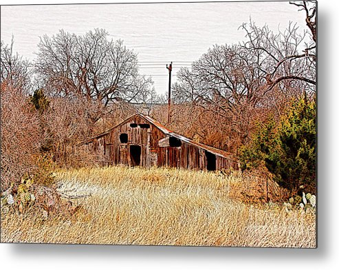 Photography Metal Print featuring the photograph A-frame Barn - No.745 by Joe Finney