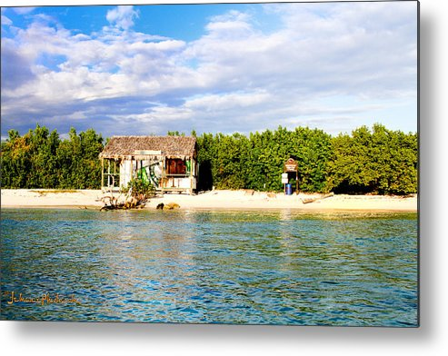 Hut Metal Print featuring the photograph Abandoned Brew Shack by Lloyd Maxwell Jr