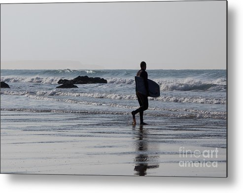 Cornish Seascape Metal Print featuring the photograph Acquaman by Brian Roscorla