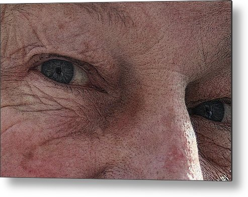 Metal Print featuring the photograph Aging Process by Barbara S Nickerson