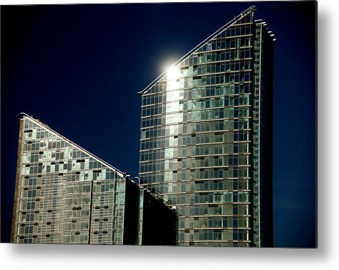 Jezcself Metal Print featuring the photograph Angles Of The Sky by Jez C Self
