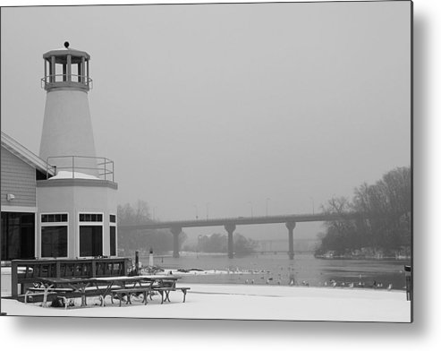 Appleton Yacht Club Metal Print featuring the photograph Appleton Yacht Club by Joel Witmeyer