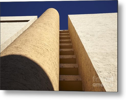 Architectural Metal Print featuring the photograph Architectural Abstract by Tony Cordoza