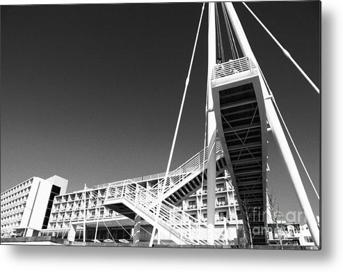 Architecture Metal Print featuring the photograph Architecture by Gaspar Avila