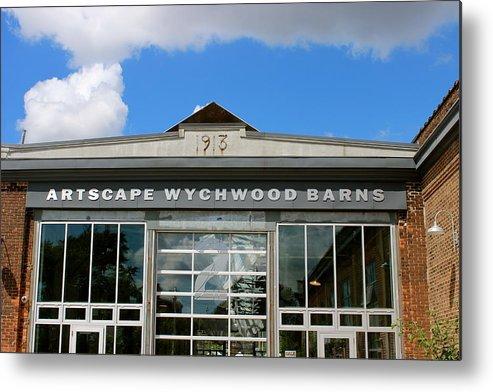 Farmers Market Metal Print featuring the photograph Artscape Wychwood Barns Barn # Two by David Pickett