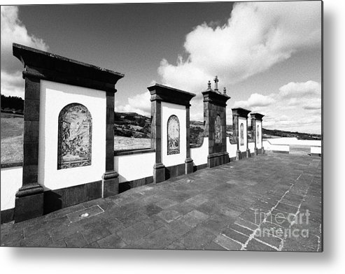 Azores Metal Print featuring the photograph Azulejo Murals by Gaspar Avila