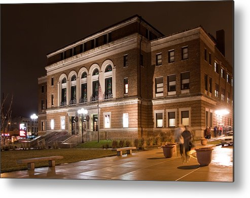 Architecture Metal Print featuring the photograph Bcpa by Jim Finch