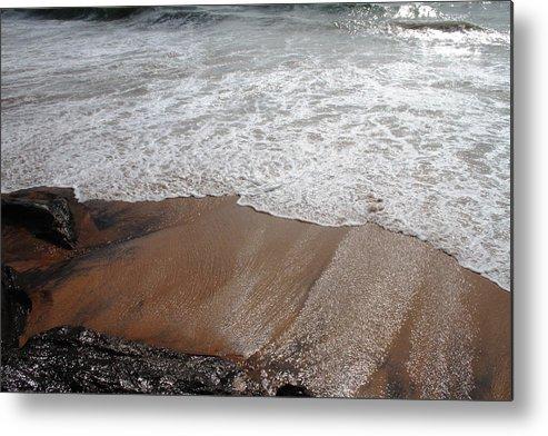 Rocky Beach Metal Print featuring the photograph Beach Front by Joe K --