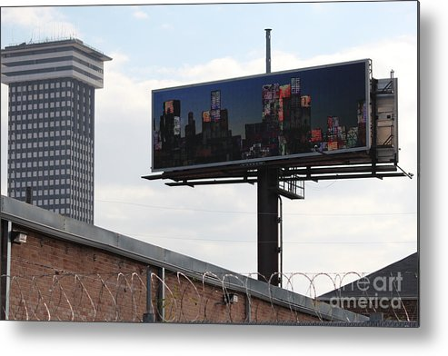 Billboard Art Metal Print featuring the photograph Billboard Art Project 2011 by Andy Mercer