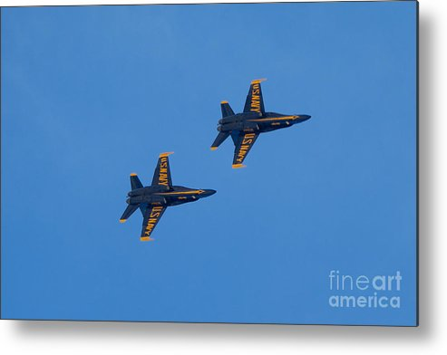 Blue Angels Metal Print featuring the photograph Blue Angel 23 by Mark Dodd