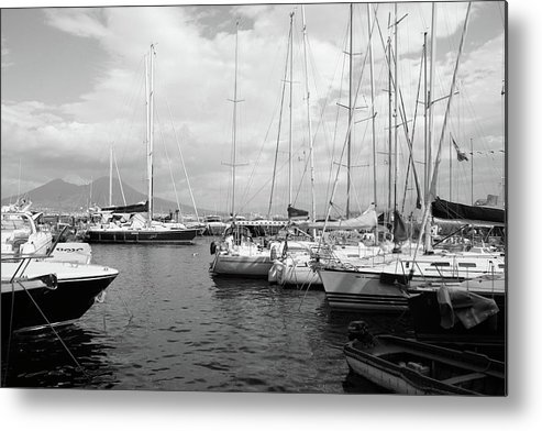 Boats Metal Print featuring the photograph Boats Meeting by La Dolce Vita