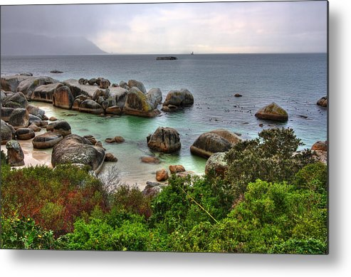 Africa Metal Print featuring the photograph Boulders Beach by Nicolas Raymond