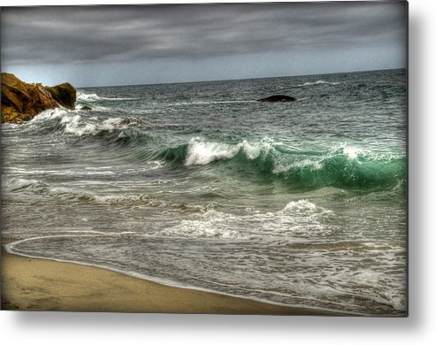 Beach Metal Print featuring the photograph Break by Craig Incardone
