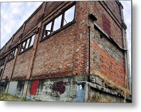 Brick Metal Print featuring the photograph Brick Walls by Elizabeth Alamillo