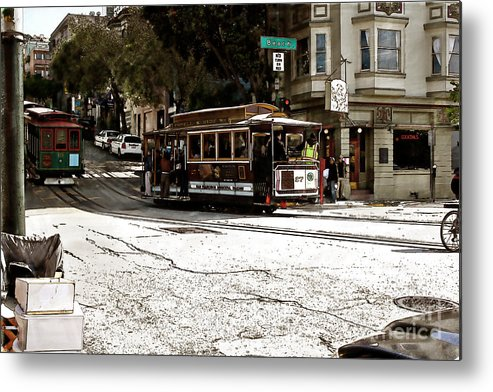 San Metal Print featuring the photograph Cable Cars by Sean Gillespie