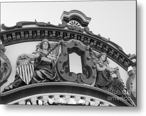 San Diego Metal Print featuring the photograph Carousel-2 by Baywest Imaging