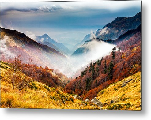 Balkan Mountains Metal Print featuring the photograph Central Balkan National Park by Evgeni Dinev