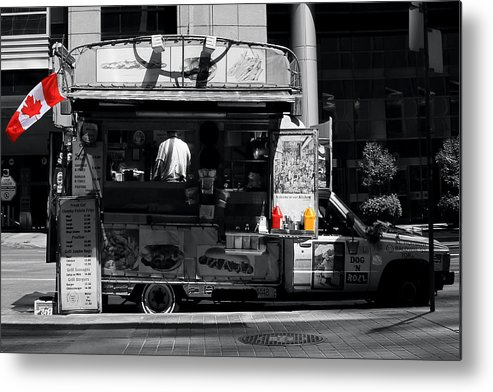 Chips Metal Print featuring the photograph Chip Wagon by Andrew Fare
