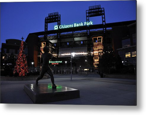 Citizens Bank Park Metal Print featuring the photograph Citizens Bank Park by Andrew Dinh