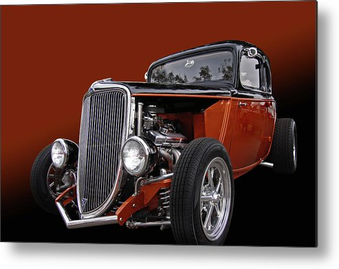 Sweet Metal Print featuring the photograph Copperod by Bill Dutting