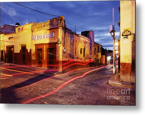 Architecture Metal Print featuring the photograph Crossroads by Jeremy Woodhouse