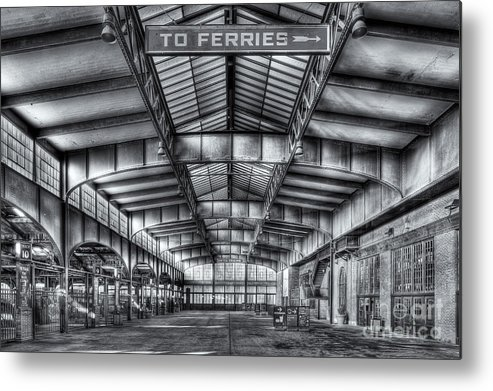 Clarence Holmes Metal Print featuring the photograph Crrnj Terminal V by Clarence Holmes