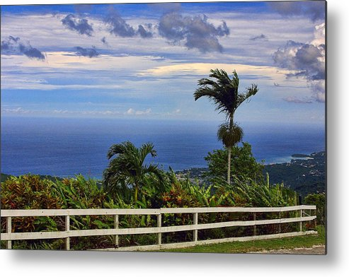 Travel Metal Print featuring the photograph Deep Blue Sea by Linda Phelps