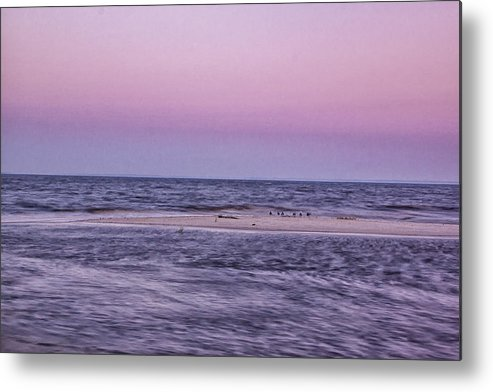 Delaware Bay Metal Print featuring the photograph Delaware Bay Dawn by Tom Singleton