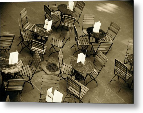 Jezcself Metal Print featuring the photograph Dinner For 16 by Jez C Self