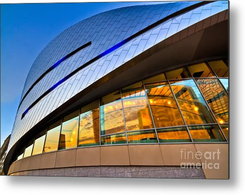 Architecture Metal Print featuring the photograph Downforce by Brian Tye