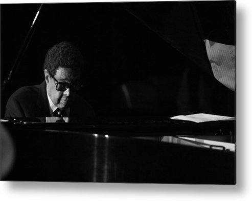 Dr.billy Taylor Metal Print featuring the photograph Dr.billy Taylor by Tony Graves