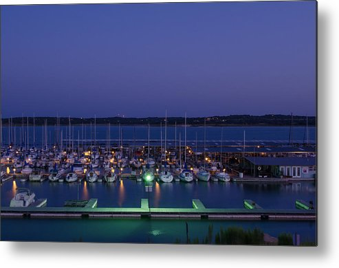 Boat Metal Print featuring the photograph Early Morning At The Marina by Sean Davis