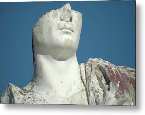 Europe Metal Print featuring the photograph Emperor's Bust by Mary Lane