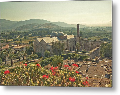 Horizontal Metal Print featuring the photograph Ephesus Countryside by S Ty photography