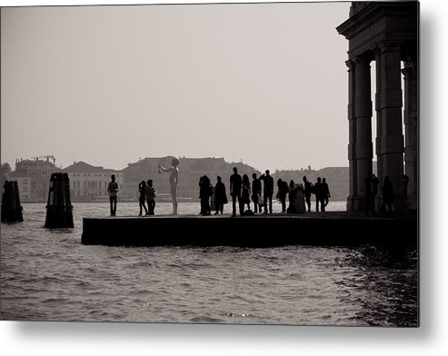 Venice Metal Print featuring the photograph E.t. by Justin and Ambyr Henderson