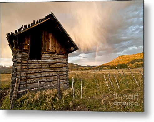 Durango Metal Print featuring the photograph Evening Storm by Jeff Kolker