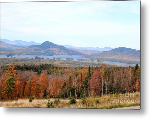 Fall Metal Print featuring the photograph Fall Landscape by Christiane Schulze Art And Photography