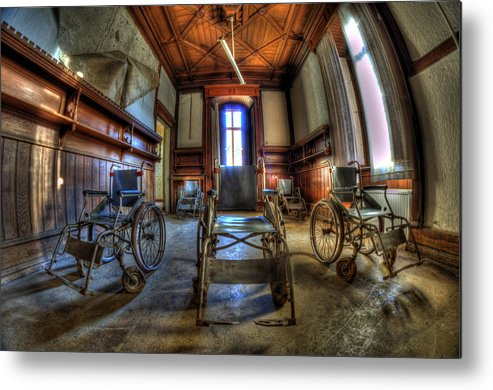 Abandoned Metal Print featuring the photograph Five Go Mad For Wheels by Nathan Wright